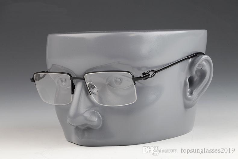 Anti-radiazioni Fashion New Best-Sell-seller Occhiali Corno in metallo Cat Half Eye Buffalo Box Pero Goggles 2021 Cornice in vetro con occhiali OIGLB