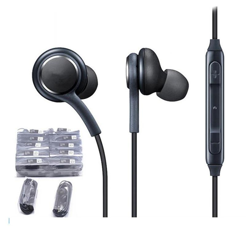 3,5 millimetri S9 S8 auricolare per Samsung GALAXY S9 S8 S8 + plus suono stereo auricolare auricolari auricolari con wired Auricolare In-Ear per LG