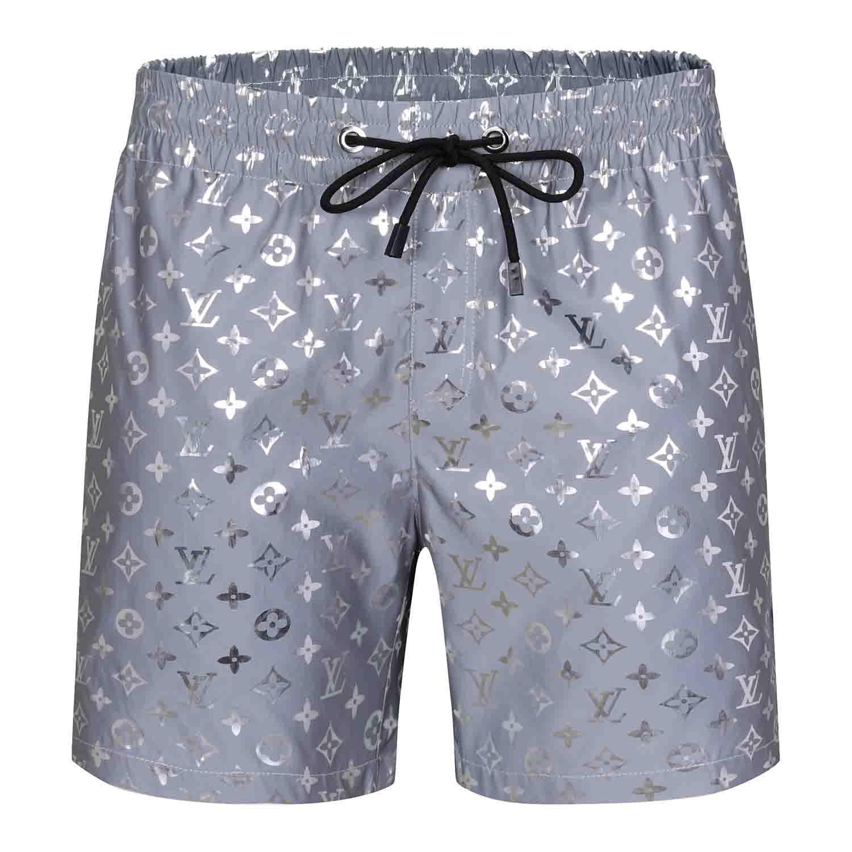 Mens Designer Sommer Kurzschluss-Hosen Art und Weise 4 Farben gedruckt Kordelzug Shorts 2019 Relaxed Homme Luxus Jogginghose j4