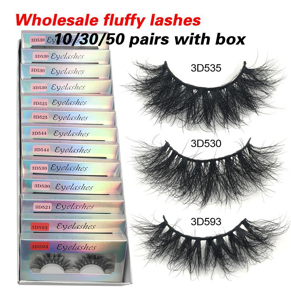 Red Siren10 30 50 Fluffy Mink Eyelashes Wholesale Lashes With Box Soft Volume Natural Eyelasehs Makeup 3d Mink Lashes In Bulk From Chinawholesale998 46 94 Dhgate Com