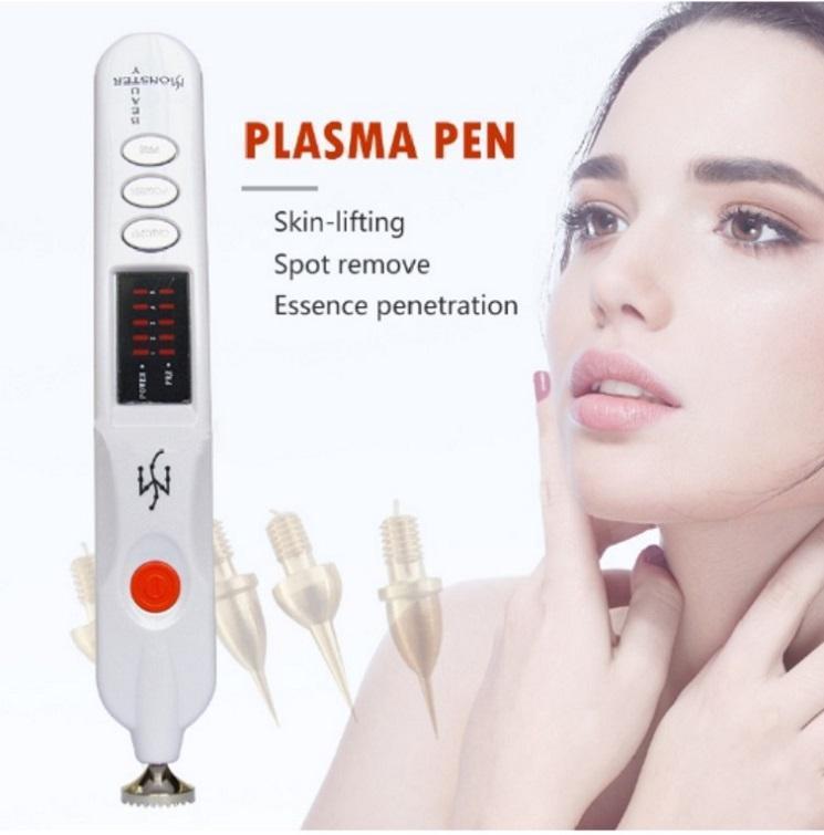 Multi-Function Facial Lifting Eyelien Mole Removal varredura mancha de beleza Dispositivo Monstro Plasma Beleza Pen