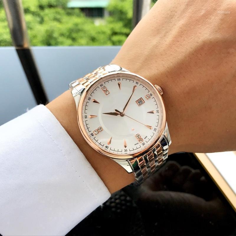 Montre 40.5mm Mouvement automatique 316 Bracelet en acier Montres-bracelets Fashion Business Montre Mécanique pour NEM1