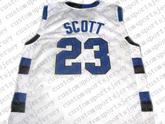 USA Basketball Jersey Cheap Thorwback One Tree Hill #23 Nathan Scott Embroidery