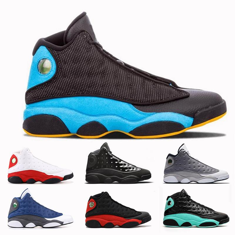 New Fashion 13 13s Silk Womens Mens Basketball shoes Chris Paul's Days-CP3 Chicago Jumpman Cap and Gown Atmosphere Grey Trainers Sneakers