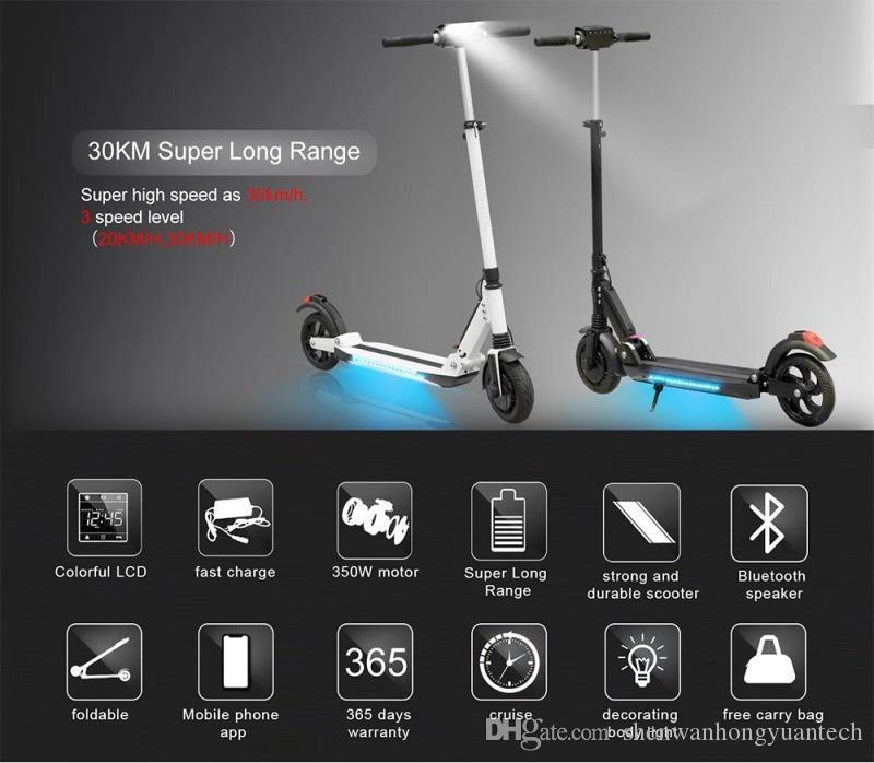 2019 горячий электрический скутер A150 Pro Smart E скутер скейтборд мини складной ховерборд Longboard для взрослых 30 км аккумулятор