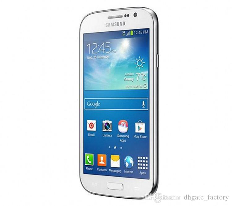 Original Samsung GALAXY Grand DUOS I9082 WCDMA 3G WIFI GPS Unlock Dual Micro Sim Card 5 inch 1GB/8GB 8MP/2MP Camera Smart Phones