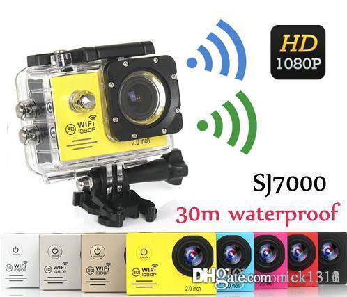 Sport camera SJ7000 WiFi 1080P Action Camera 1080P Full HD 2.0 LCD 30m Waterproof DV video Sport extreme mini cam recorder