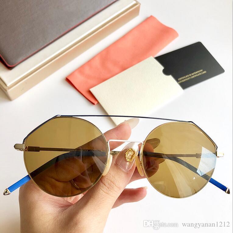 Dernières vente soleil mode populaire 0042 lunettes de soleil des hommes des femmes hommes Gafas de sol de qualité supérieure verres UV400 lentille avec la boîte