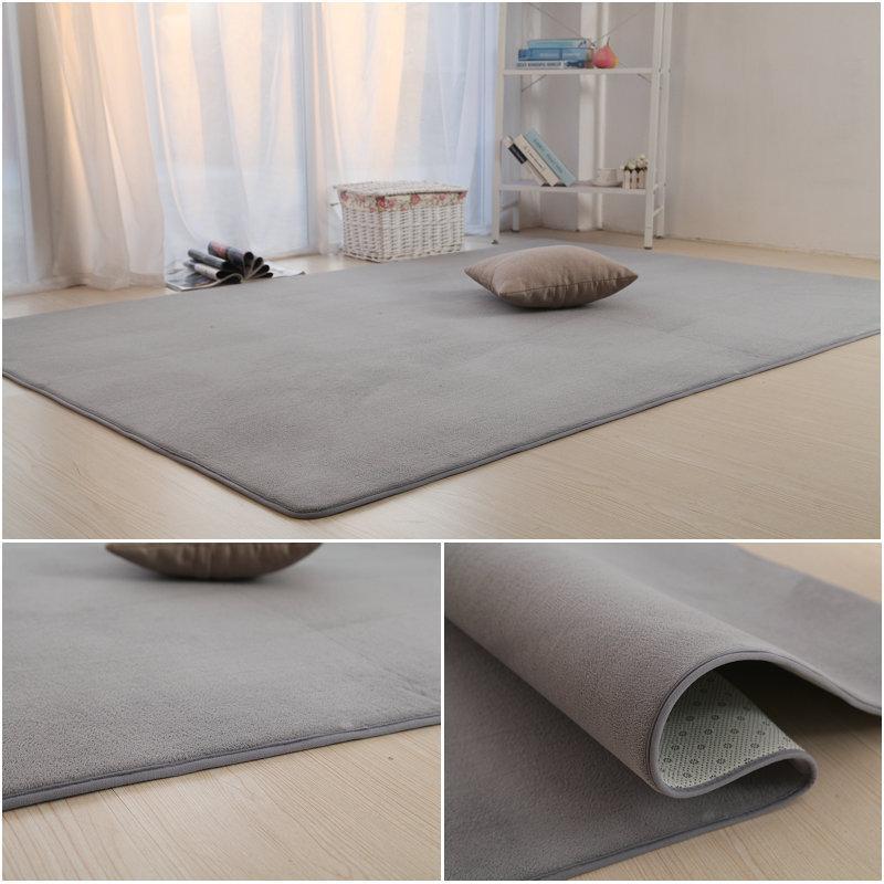 Sala quarto tapete antiderrapante macia 50 * 160 centímetros tapete moderno tapete do assoalho mat purpule cinza de cor 11