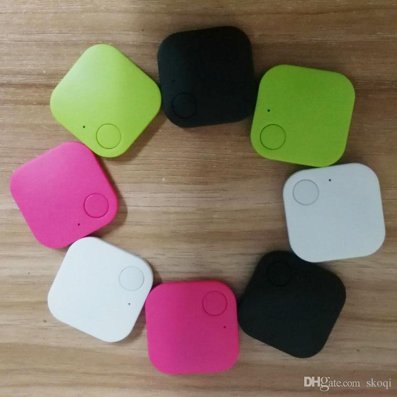 Bluetooth 4.0 faible puissance bidirectionnel enfant âgé animal mobile téléphone portable smart carré anti-perte carré Bluetooth anti-périphérique perdue