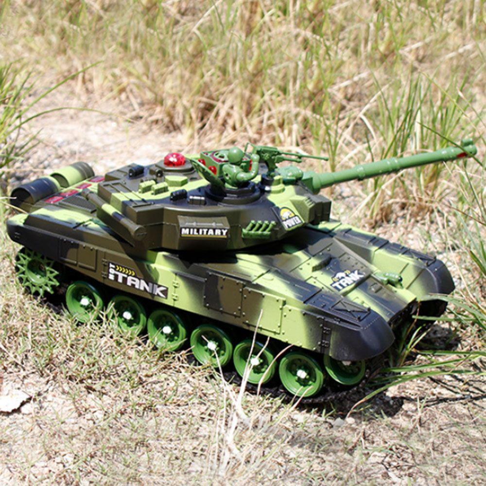 Ragazzo hobby Giocattoli di New RC Radio Guerra Carro armato Veicolo Tattico principale battaglia militare di battaglia principale del carro armato del modello sonoro di Recoil elettronico