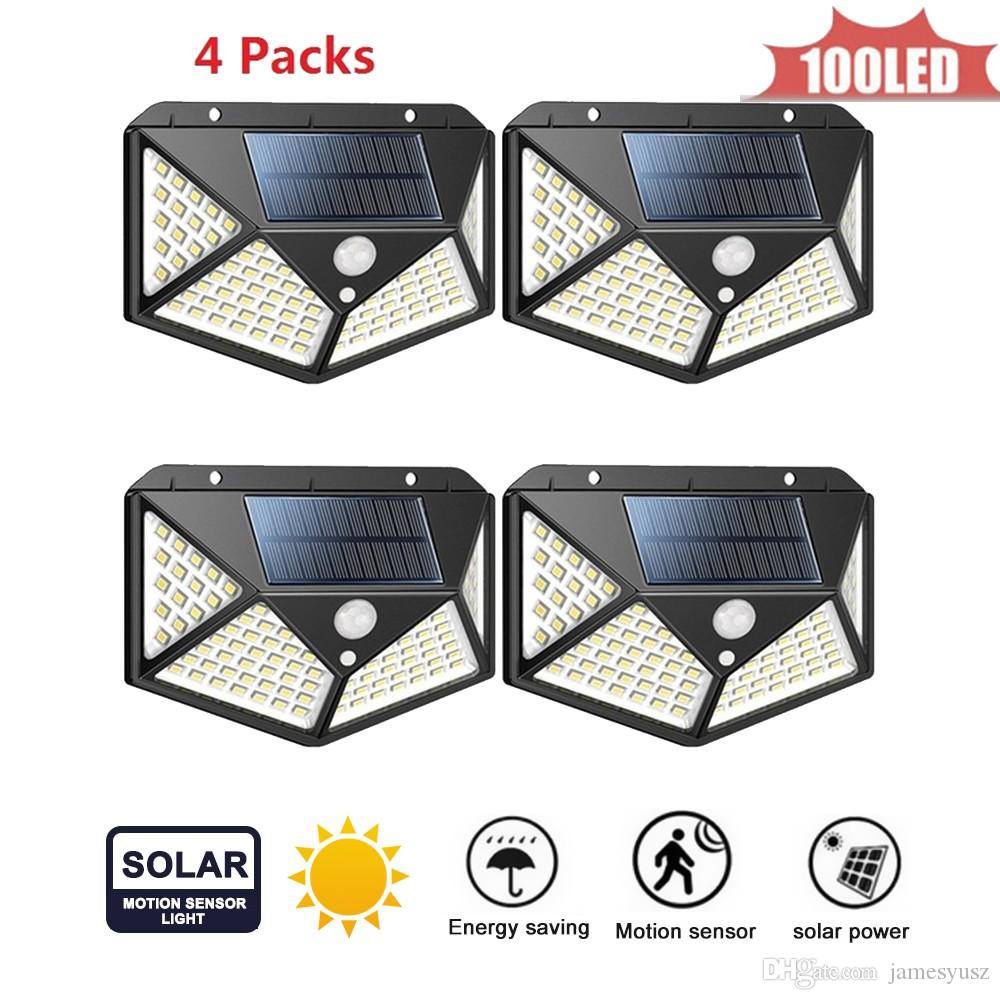 High Power Solar Wall lamp PIR Motion Sensor LED Street Light Outdoor Waterproof Energy Saving Garden Yard Security Night Lamp 4