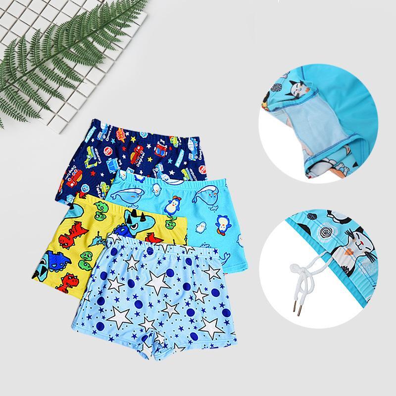Малыш дети мальчики мультфильм печати стрейч пляж купальник купальники брюки шорты новый купальники,дети мальчик плавки