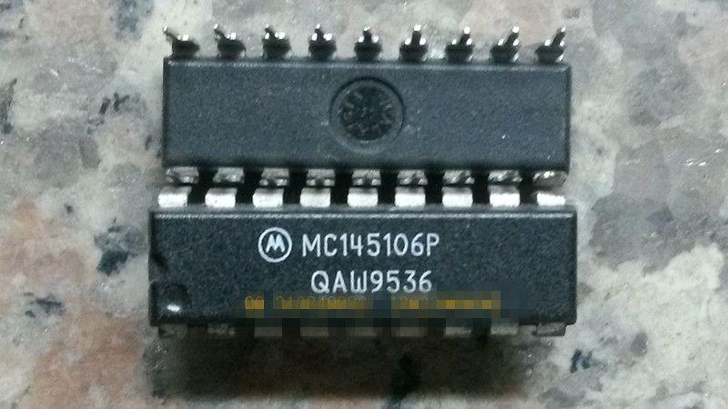 Livraison gratuite MC145106P .18 composants DIPelectronic à aiguille double ligne, circuits intégrés, IC, Composants électroniques