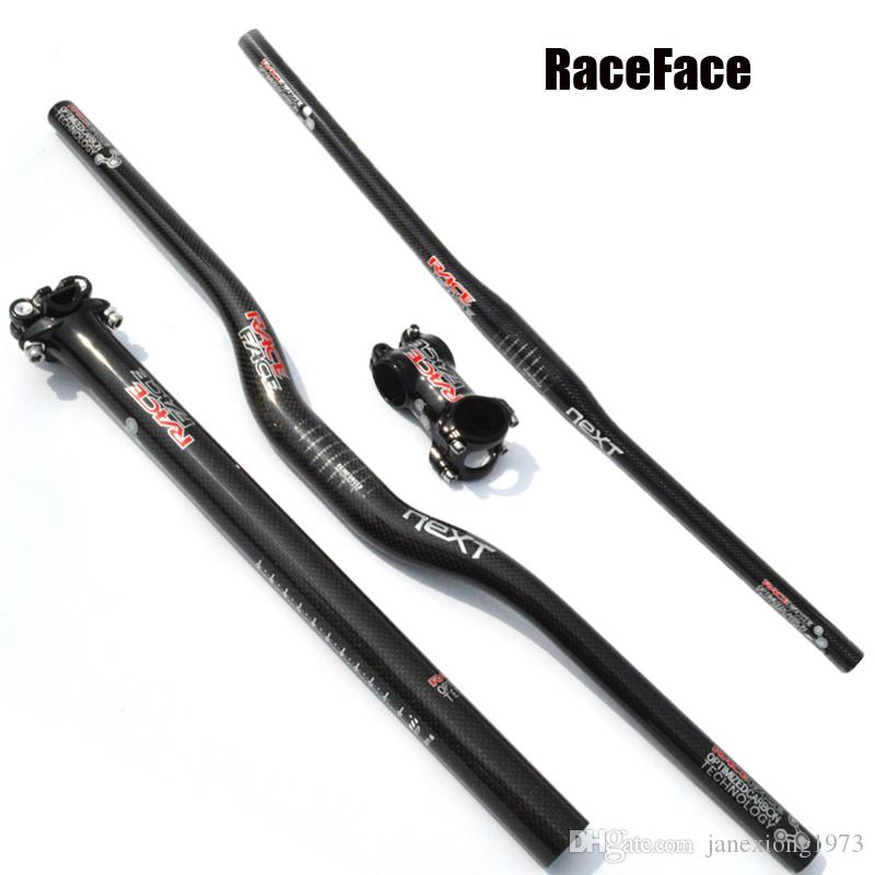 RACE FACE NEXT carbon MTB bicycle handlebar SET mountain bike rise handlebar and stem and seat post carbon cycling parts set
