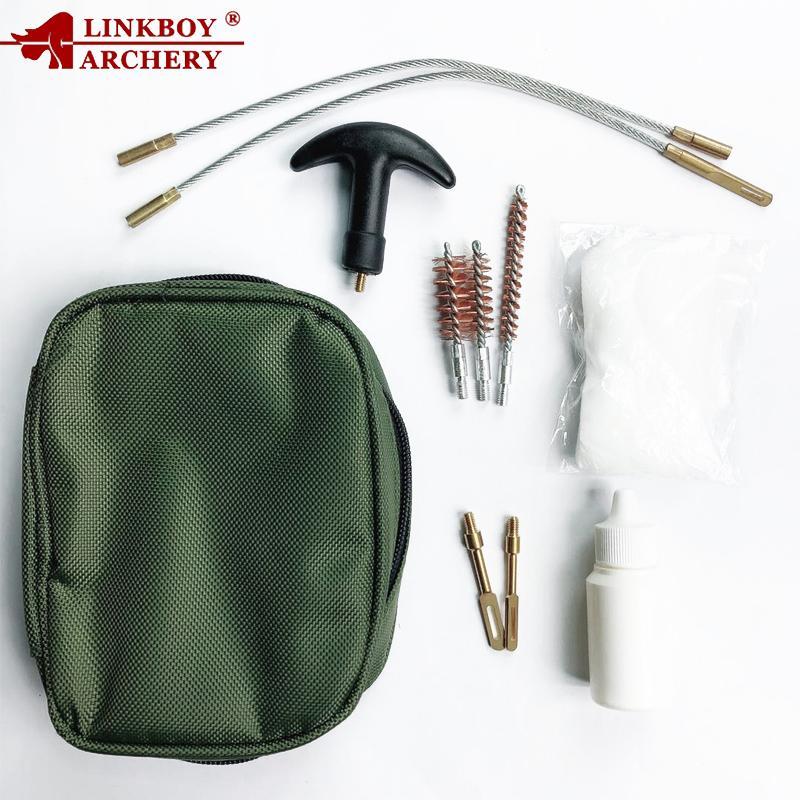 Linkboy Universal Guns Cleaning Kit for Rifle Pistol Handgun Professional Guns Cleaning Set Brush Tool Shooting