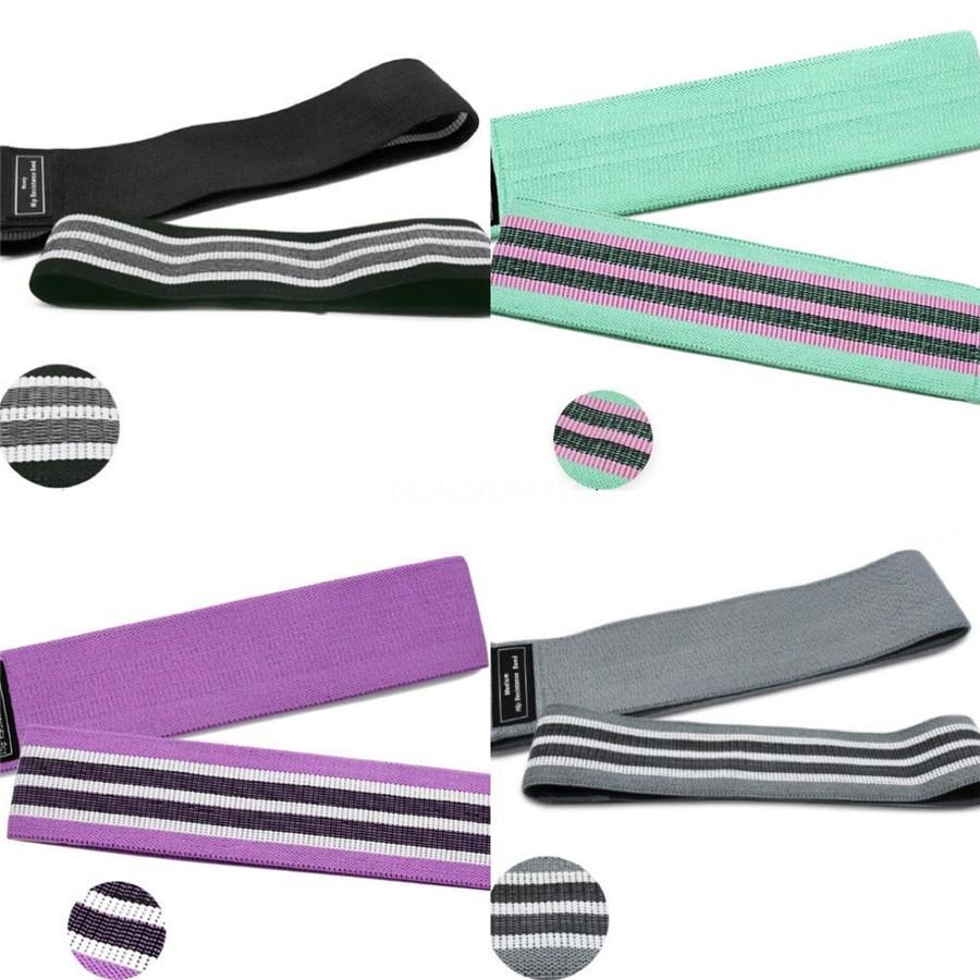 5 Jeu de couleurs Résistance Ombre pourpre Fitness Bands entraînement Crossfit Elastiques Pilates boucles latex yoga bandes d'exercice # 143