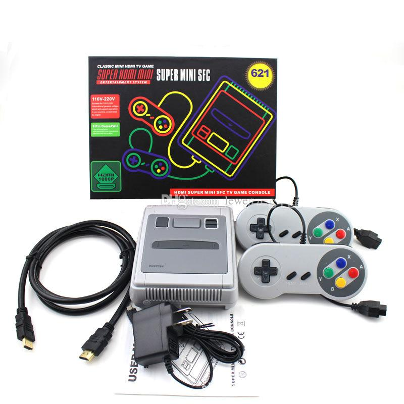 HDMI Game Console SFC 621 TV Mini Classic Game Consoles can store 621 HD video games For SFC SNES Games Console