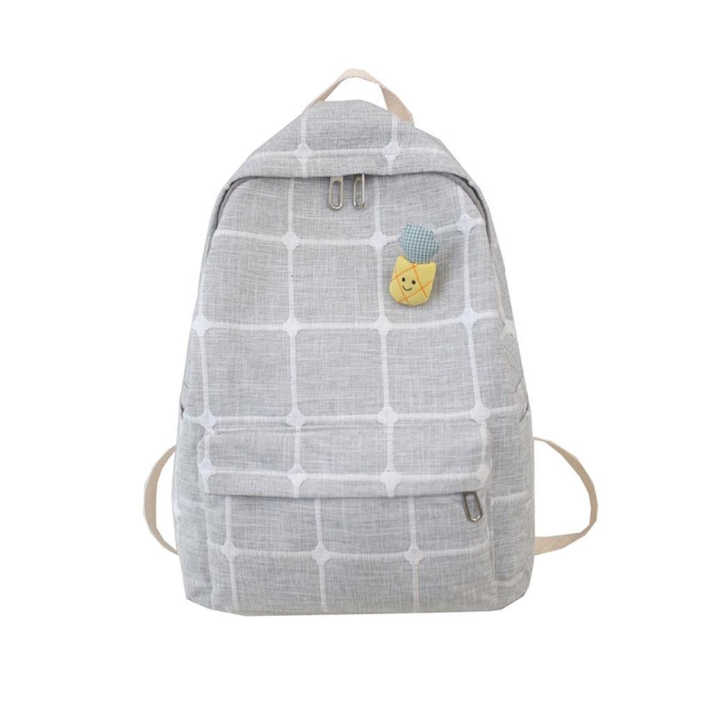 Saco de escola Mochila de Viagem Mochila Grande Capacidade de Cor Sólida À Prova D 'Água Nylon Ocasional Mochila Saco de Escola Anti Roubo bagpack