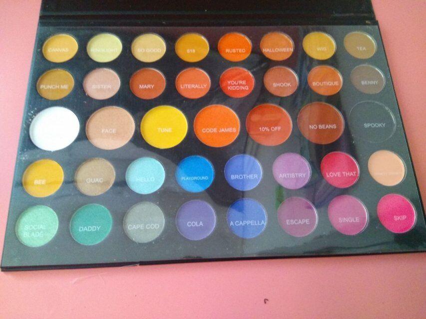 Nuovo trucco 3 9 colori Eye Beauty Palette naturale duraturo ombretto Matte Shimmer Palette 3 9 sfumature cosmetici spedizione gratuita!
