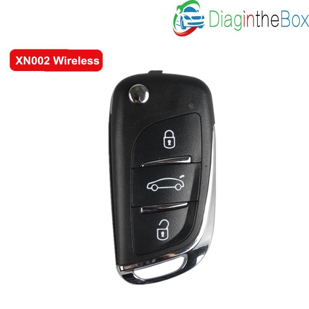 5 pc / lotto Universal Remote Key XHORSE chiave senza fili a distanza Per Tipo DS 3 pulsanti XN002 Per VVDI strumento VVDI2
