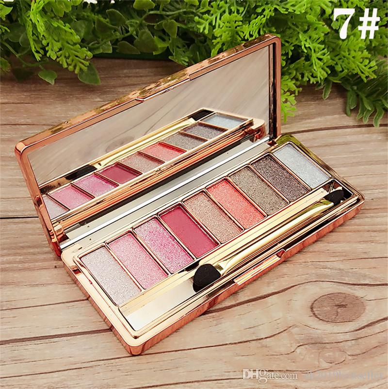 Eye Shadow Palette Matte Eyeshadow 9 Colors Palette Glitter Eye Shadow Makeup Nude Makeup Set Cosmetics