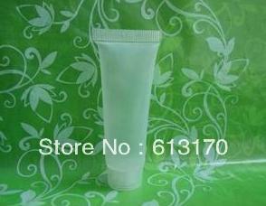 100pcs 10ml Kunststoff leeren Schlauchrohr kosmetisches weiches Rohr eindrücken freie Versandemulsionsflasche Butter Schlauchtyp
