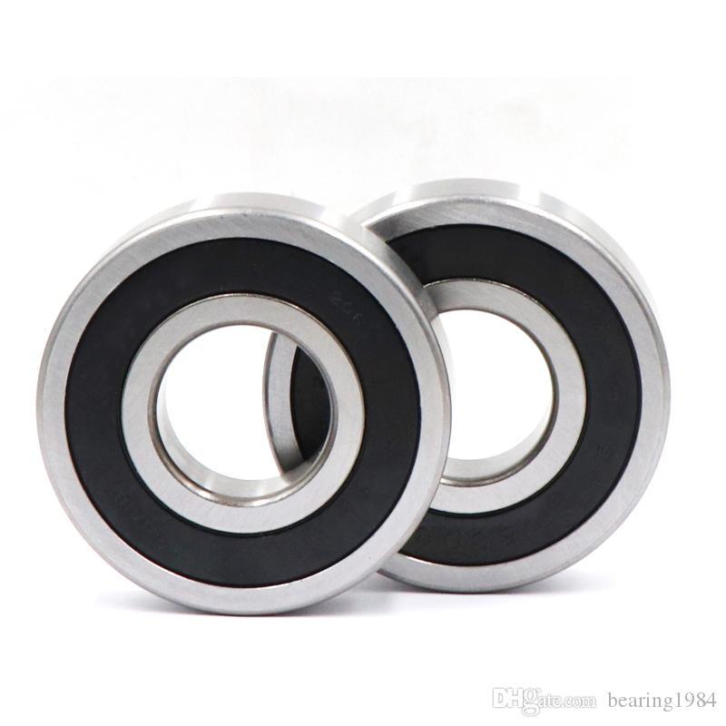 2pcs 6010-2RS 6010RS Caoutchouc Scellé Roulement à billes 50 X 80 X 16 mm