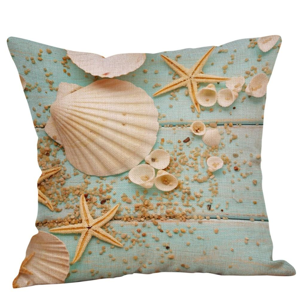 Marine Life Print Square Simple Cotton Linen Cushion Cover Sofa Cushion Cover Home Decoration 45 45cm L617 Outdoor Chair Cushions Clearance Patio Chair Cushions Clearance From Qiangweiflo 21 56 Dhgate Com