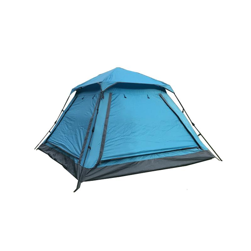 Tent trip camping beach automatic outdoor tent four mesh gauze 3-4 people waterproof sunscreen awning family travel essential