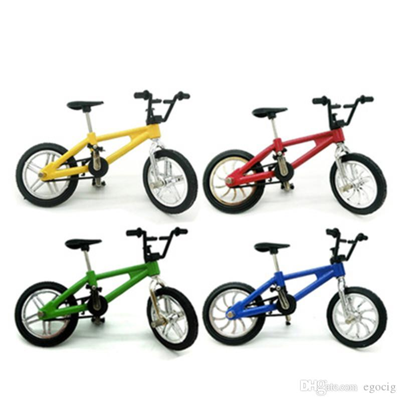 Mini alloy bicycle finger small wheel bicycle creative simulation finger mini alloy bicycle bmx flick Trix finger bike free shipping