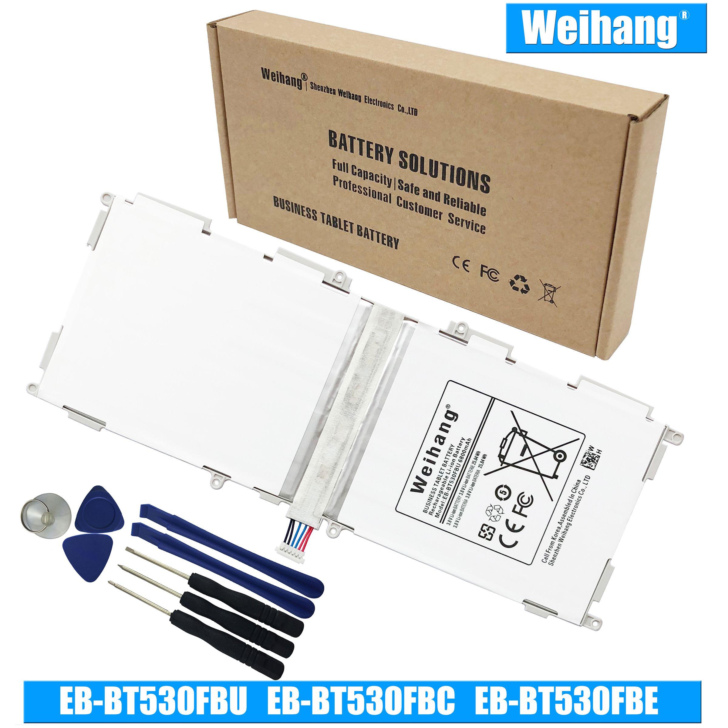 """Nouvelle batterie EB-BT530FBU EB-BT530FBC EB-BT530FBE pour Samsung Galaxy Tab 4 10.1 """"SM-T530 SM-T531 T530NU SM-T535 SM-T537"""