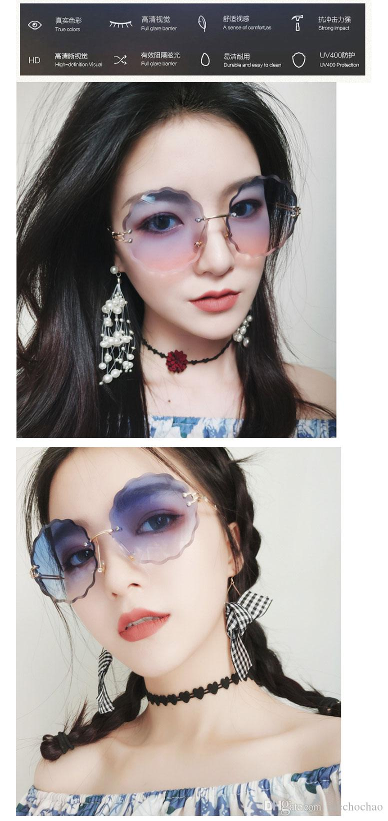 Cool Women Lady Polarized Sunglasses Outdoor Gradient Lens Driving Decoration