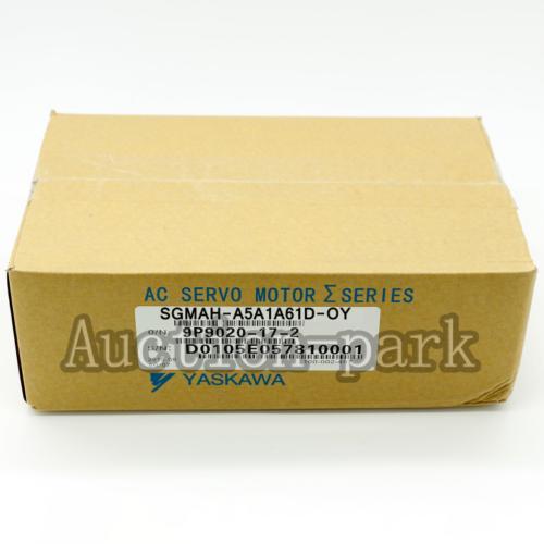 1PC NEW IN BOX Yaskawa servo Motor SGMAH-A5A1A61D-OY one year warranty