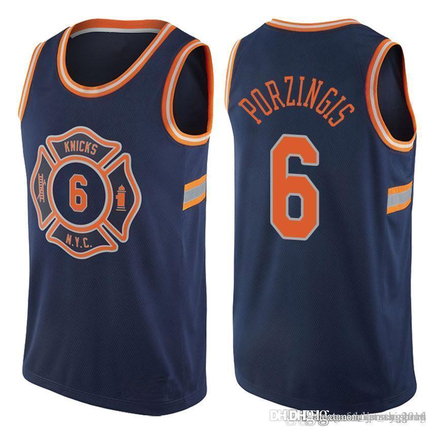 best cheap ebc50 893fd 2019 Allonzo 14 Trier NEW YORK Kristaps 6 Porzingis Jersey KNICKS Kristaps  6 Porzingis Basketball Jerseys From Tukameng2016, &Price; | DHgate.Com