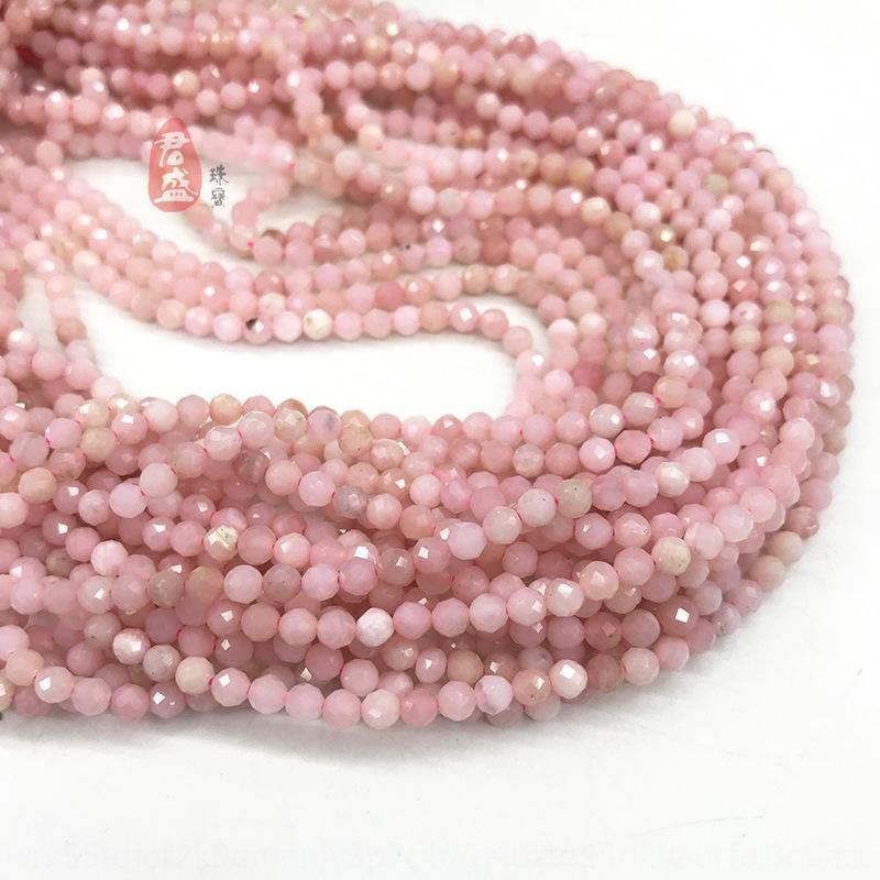 perlas de corte Hoyhg natural de color rosa Aobao de tobillo accesorios anillo de tobillera semiacabados natural de color rosa Aobao perlas de corte collar de tobillo de bricolaje semiacabados