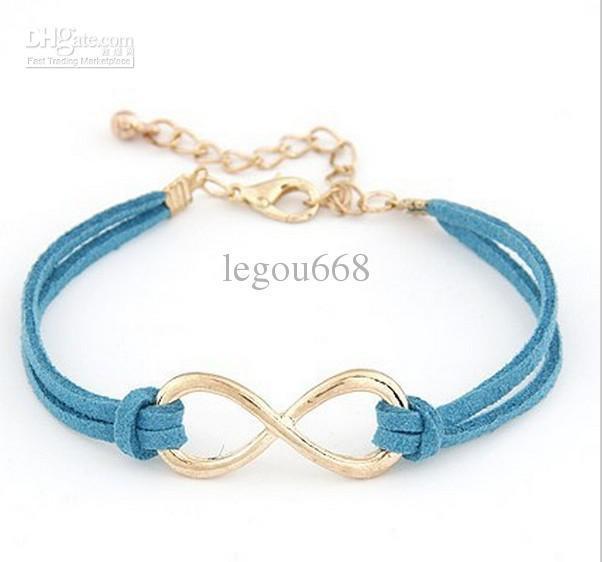Mode Infinity bracelet Huit bijoux bracelet bracelet croix! Livraison gratuite !! CRYSTAL boutique