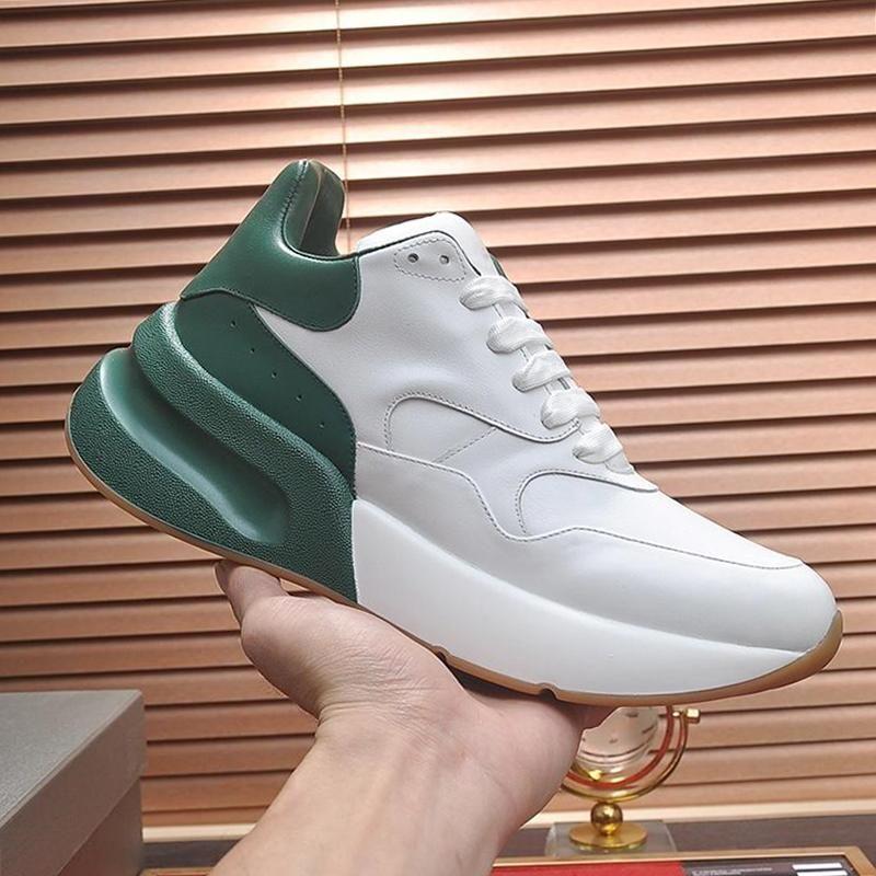 Alexander McQueen Yeni Büyük Boy Sneaker Erkek Ayakkabı Hafif Yüksek Kalite Stil Ayakkabı Lüks Design Plus Size Casual Spor Erkek Ayakkabı Zapatillas Hombre