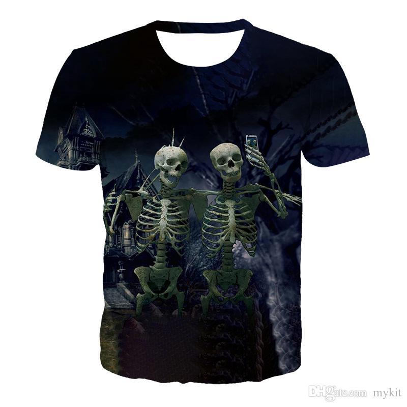 2019 neue Art und Weise T-Shirts Männer Spezielles Design Buntes nette Wahl Shirt # 236