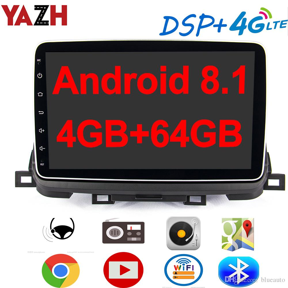 """Car Stereo Double Din Car Radio Android 8.1 Audio 9/""""2.5D HD Touch Screen in Dash Car MP5 Player with Bluetooth GPS Navigation WiFi FM//AM Radio Support Mirror Link SWC Dual USB Rear View Camera"""
