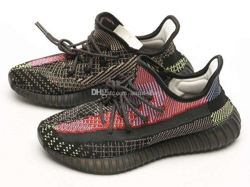Mens Kaye occidentale Yecheil Sneakers per Scarpe sport delle donne kanyewest addestratori degli uomini scarpa da running Donne Uomo jogging Donna Sport maschile Athletic