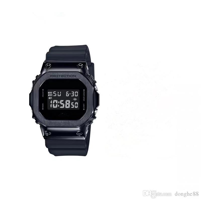 Hot Nuovi sport vigilanza LED Digital Watch e Relojes impermeabile della vigilanza degli uomini del nuovo di modo aperta Elettronica