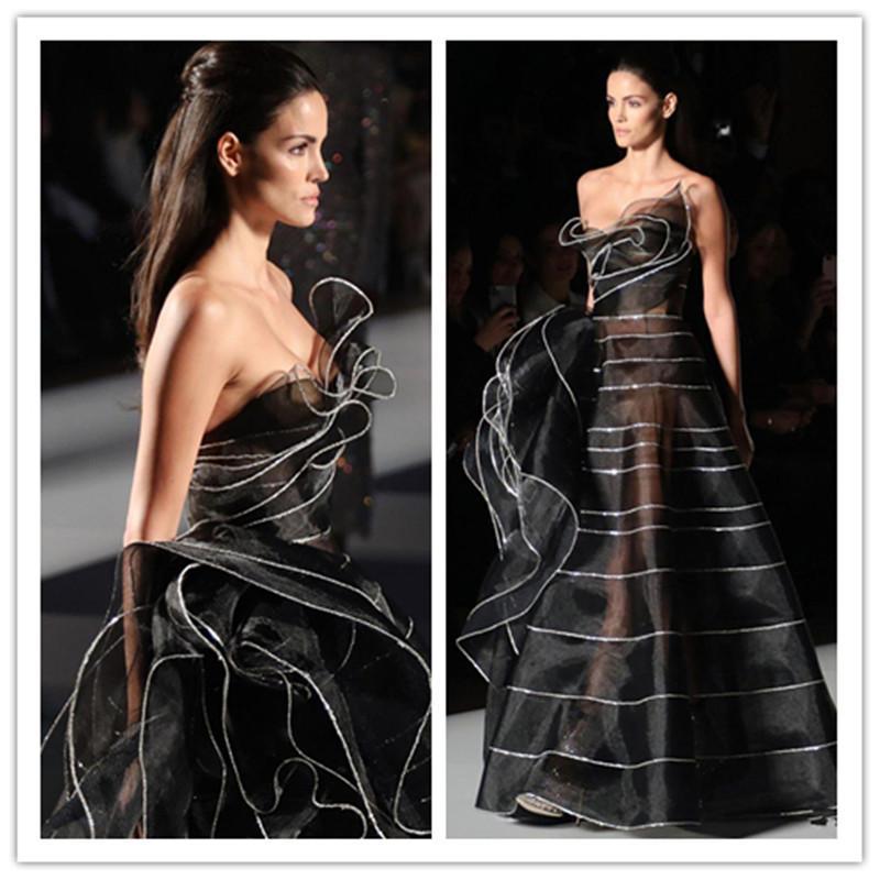 Abiti 2020 nero arabo Sparkly sexy vestiti da sera in rilievo elegante Prom lusso partito convenzionale seconda accoglienza abiti vesti de soiree