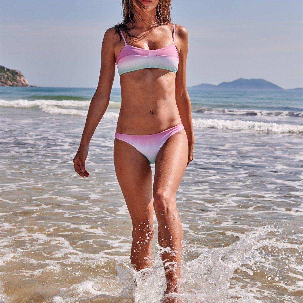 Frauen Bikini Sets zweiteiliger Badeanzug Sexy Womens Bikini Neue