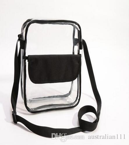 free shipping 19 20 the Clear Purse Stadium Approved Bag + PATCH of man with Zipper and Shoulder Strap on sale