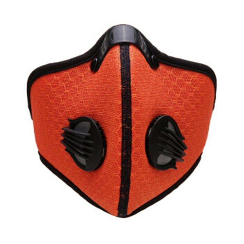 PM2.5 carbón activado 5Layers Insertar Esterilla protectora anti Haze Boca reemplazable s para la máscara Gga3293-3 # QA262
