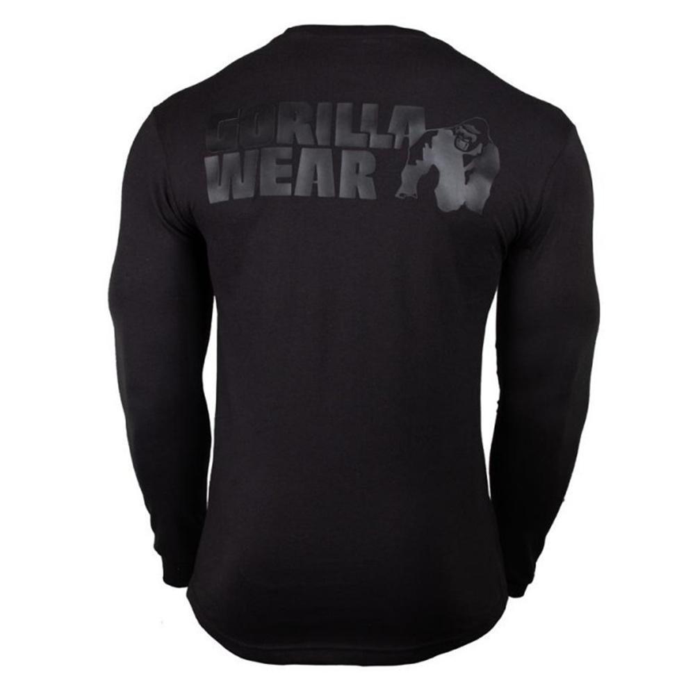 Casual manches longues en coton T-shirt Homme Gym Fitness culturisme entraînement maigre t-shirt Homme T-shirt imprimé Tops Marque sport Vêtements T200219