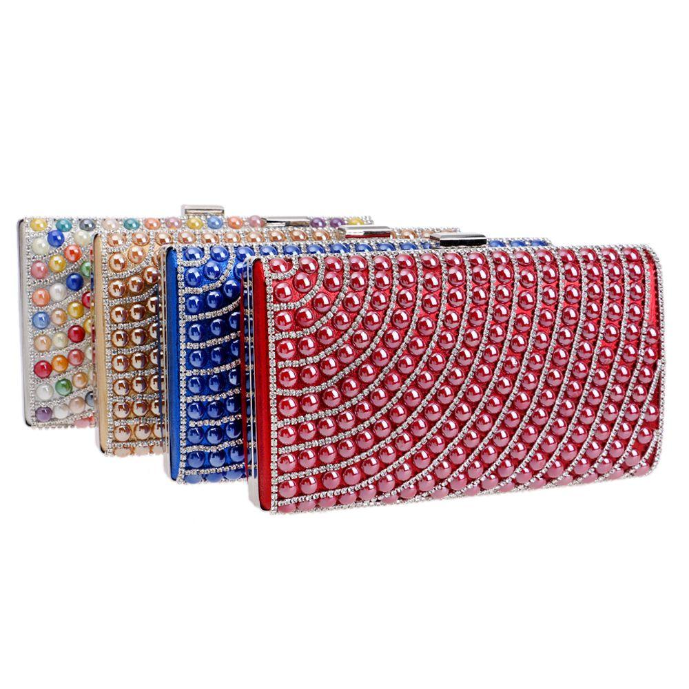 Designer-nuovi Hot Ceramica caramella misti Borse di sera delle donne frizioni di giorno borsa della borsa con la catena della spalla del messaggero del sacchetto di sera