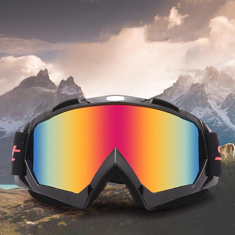 Moto da corsa Occhiali Motocross fuoristrada Dirt Bike ATV Googles Sci Snowboard Occhiali per uomo Donna Lenti colorate MT02