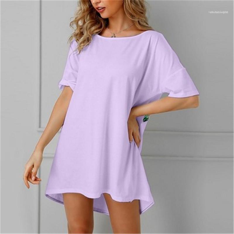 Printed col V T-shirt loose Avslappnad Tops 2020 été précarisés T-shirts imprimés Designer Femmes Retour